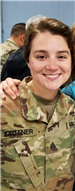 Sami Zautner - Army National Guard currently deployed (Mary Lous niece)