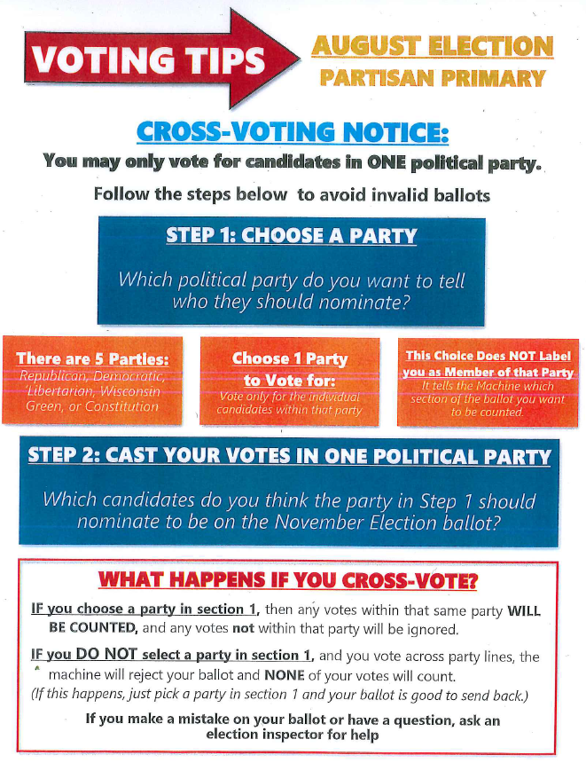 Partisan Party Voting Tips