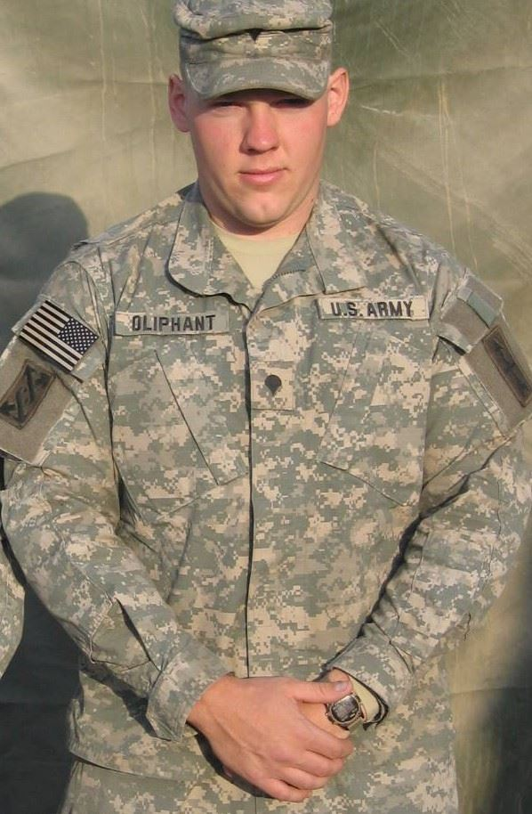 Ryan Oliphant - Army Iraq (Trustee Randy Oliphants son)