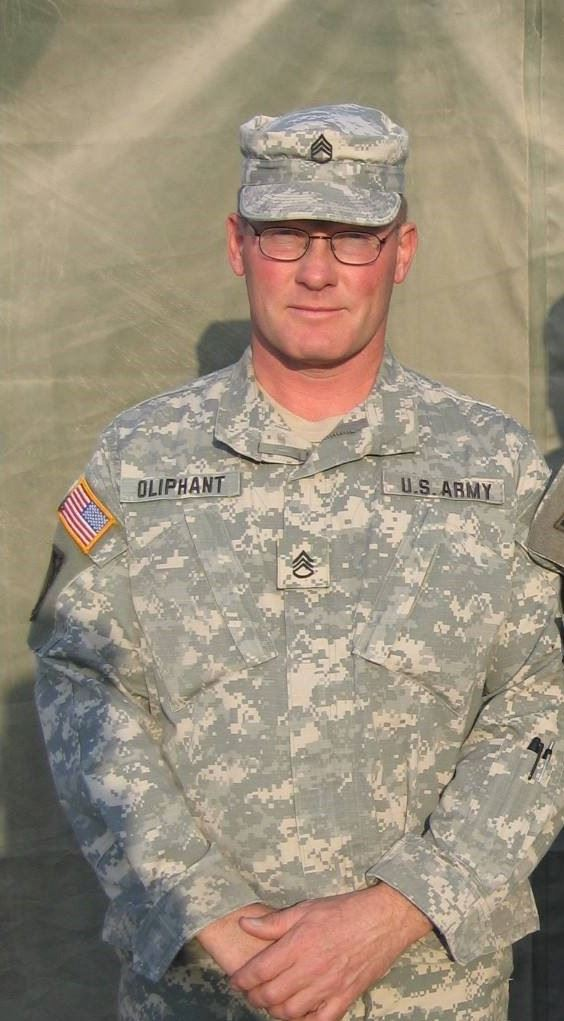 Trustee Randy Oliphant - Army Desert Storm and Iraq